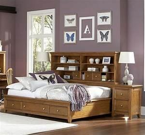 Photo De Lit : la t te de lit avec rangement un gain d 39 espace d co ~ Melissatoandfro.com Idées de Décoration
