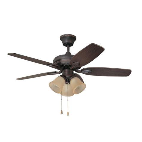 copper ceiling fan with light shop kendal lighting cordova 42 in copper bronze indoor