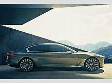 BMW Vision Future Luxury Peking Auto Show 2014 Bilder