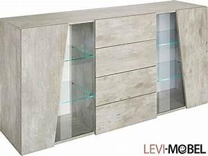 Wohnwand Beton Optik : sideboard wohnzimmer wohnwand schrank beton optik matt neu 794848 g nstig online kaufen ~ Frokenaadalensverden.com Haus und Dekorationen