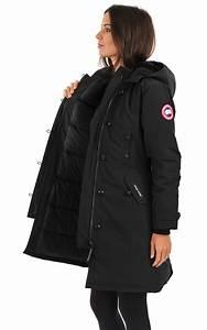 Parka Grand Froid Femme : parka kensington noir canada goose la canadienne ~ Carolinahurricanesstore.com Idées de Décoration