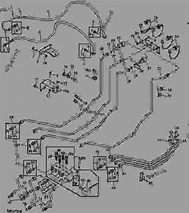 Diverter Valve Hydraulic Lines  Cab    - 740000
