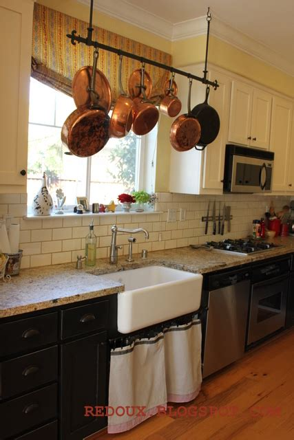 kitchen island with hanging pot rack welcome to inspiration friday no 52 hanging pot racks 9437