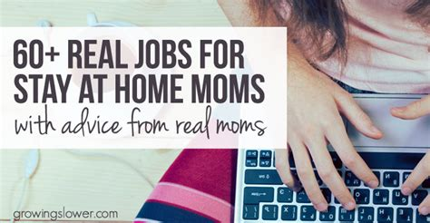 60+ Jobs For Stay At Home Moms