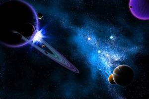 Photos Stars Planets Space 3D Graphics
