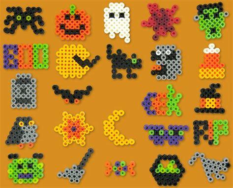 Halloween Perler Bead Projects by Halloween Bingo Perler Project Pattern Hama Beads