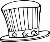 Hat Coloring Pages July 4th Printable Colouring Cap Hats Sheets Fourth Patriotic Uncle Sam Freecoloringpagefun Clipartpanda Popular Preschool Adults Crafts sketch template