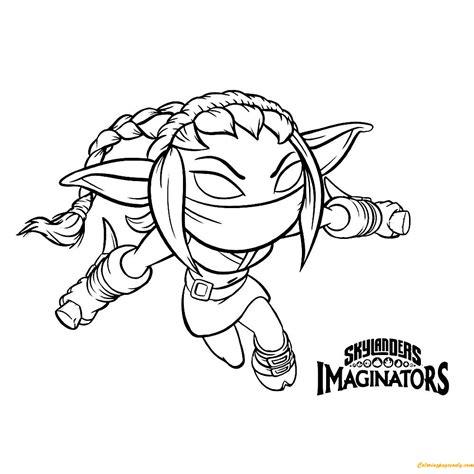 Kleurplaat Skylanders by Skylanders Imaginators Coloring Page Free Coloring Pages