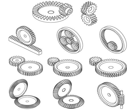 Different Types Of Gears, Their Functions