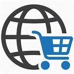 Icon Ecommerce Shopping Global Commerce Cart Transparent