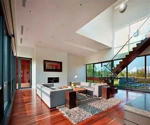 Moderne h user innenausstattung mit granit treppen innen for Moderne häuser innen