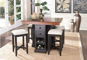 rooms to go dining room sets coventry black 5 pc counter height dining set dining room sets