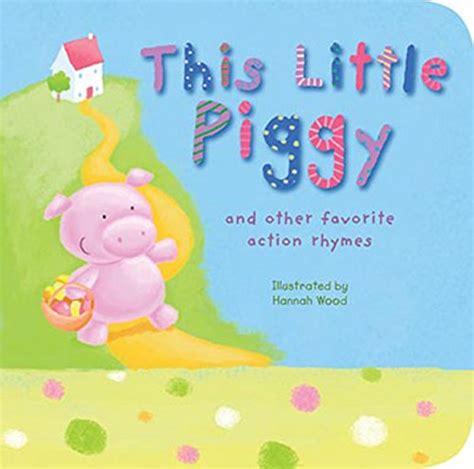 Little Piggy Nursery Rhyme by Cute Kids Reading Books