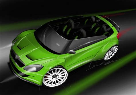 Skoda Fabia Rs 2000 Design Concept 2018 Photo 68245