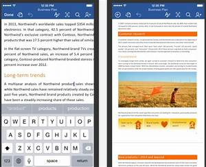 Microsoft Office Apps For Iphone  U0026 Ipad Available As Free