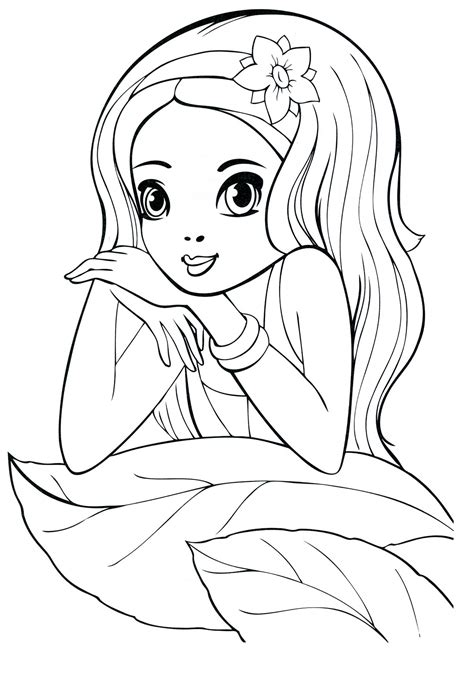 coloring pages   year  girls