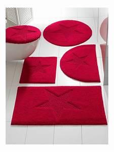 linge de maison nos coups de coeur 2015 With tapis de bain rouge
