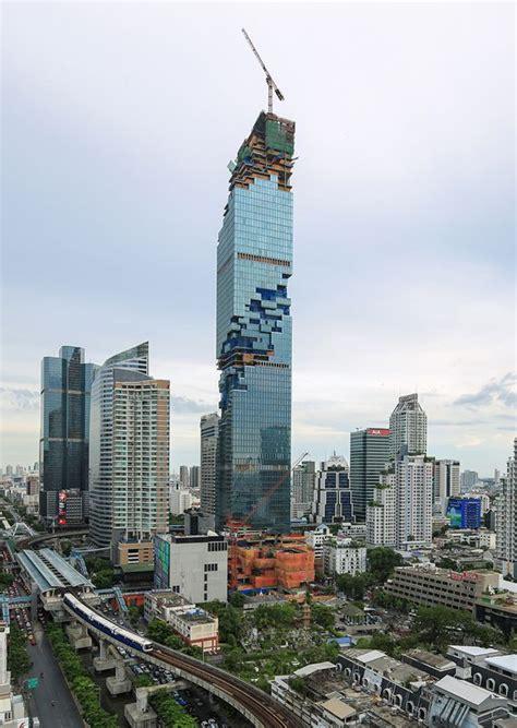 mahanakhon  skyscraper center sydney competition