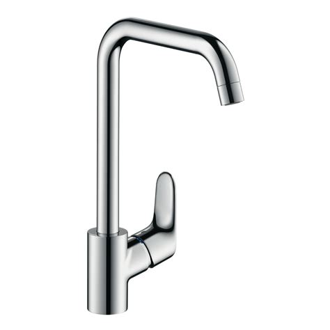 how to change a kitchen sink faucet hansgrohe focus single lever kitchen mixer 1 2 quot chrome