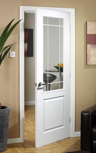 half light door manhattten half light textured white primed door