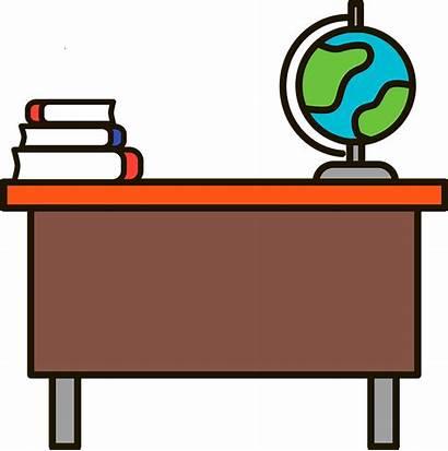 Desk Teacher Clipart Rovigo Transparent Cpia Inizieranno