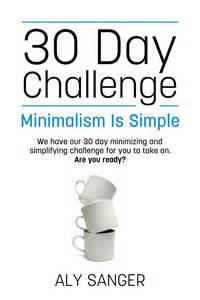 30-Day Minimalist Challenge