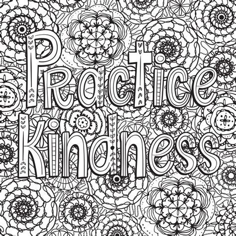 inspirational coloring pages for adults 261 best images about words colouring pages for adults on