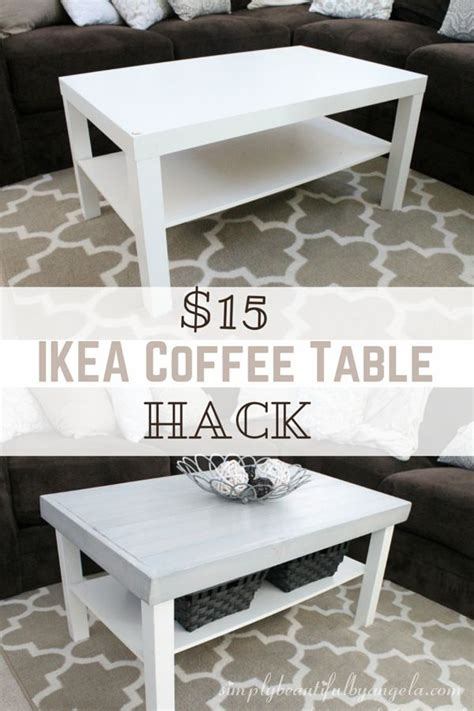Ikea Glass Living Room Table by Ikea Lack Coffee Table Hack In 2019 Great Idea Thursdays