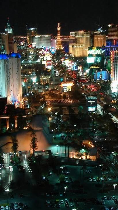 Vegas Las Iphone Landscape Night Casinos Phone