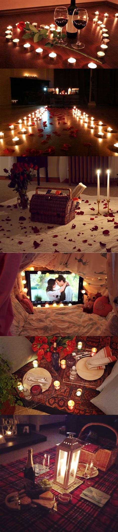 A great date idea is yard saling! Romantic Indoor Picnic | DIY Valentines Day Gift Ideas for ...