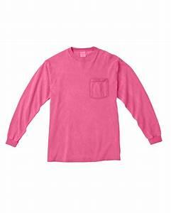 C4410 Tee Shirt Comfort Colors Chouinard Long Sleeve ...