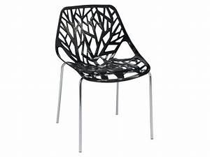 Chaises En Paille Conforama : chaise shaft coloris noir vente de chaise conforama ~ Melissatoandfro.com Idées de Décoration