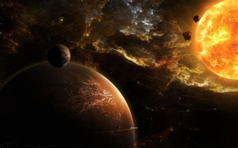Planets and stardust wallpaper   Wallpaper Wide HD