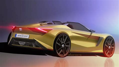 Brand Of Car Made In Spain by Seat Roadster Design Study For A Mazda Mx 5