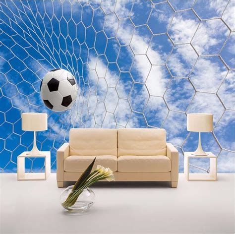 wallpaper soccer ball net sports wallpaper  walls