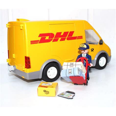 bureau de poste playmobil playmobil camionnette dhl poste play original