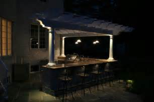 outdoor kitchen lighting ideas triyae lighting ideas for outdoor kitchens various design inspiration for backyard