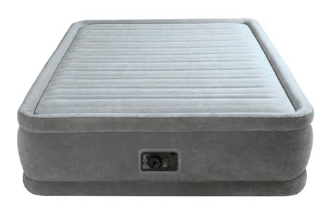 intex air mattress intex comfort plush elevated airbed w built in