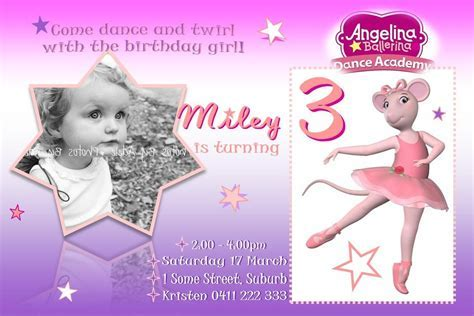 Childrens Birthday Invitations   Little Pleasures
