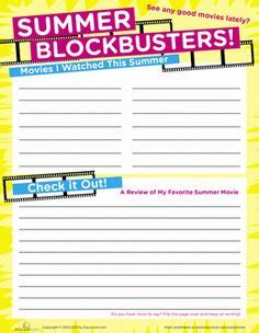 Summertime Learning On Pinterest  Worksheets, Kid Summer And Activities