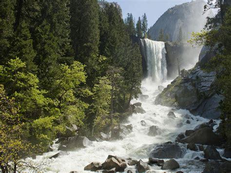 Falling Rocks Close Parts Yosemite National Park
