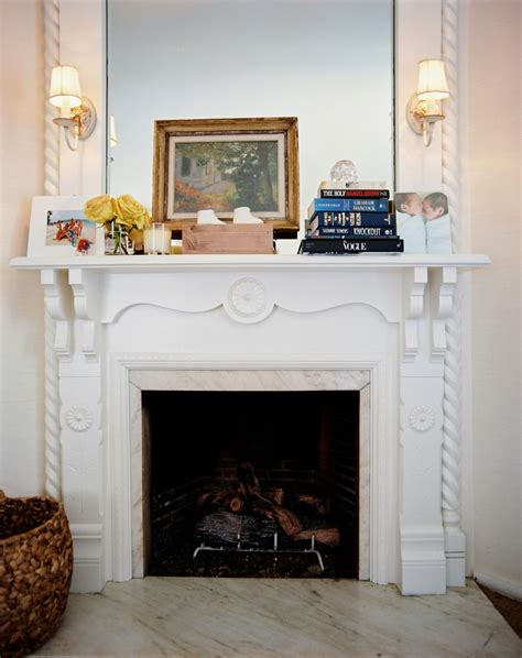 step fireplace decor ideas lonny