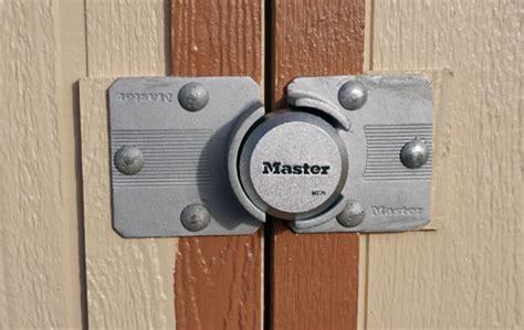 faq      shed door  secure