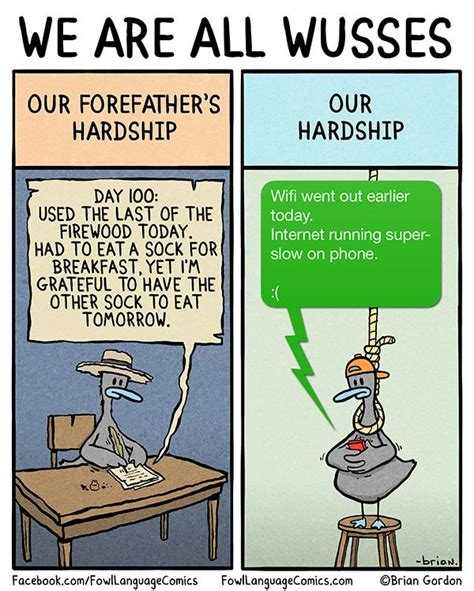 Funny Comic Memes - we are all wusses fowl language comics too funny pinterest language comic and humor
