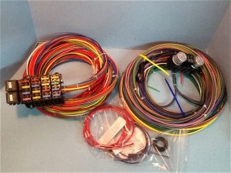 Rebel Rod Wiring Diagram by Rebel Wiring Harness Rewire Your Rod Or Kustom The H A