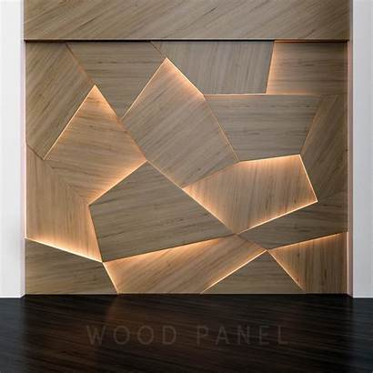 Panels 3d Wooden Wood Wall Paneling Cgtrader