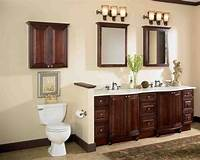 bathroom cabinet ideas Cherry Wood Bathroom Cabinets - Home Furniture Design