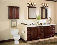 bathroom cabinet ideas Cherry Wood Bathroom Cabinets - Home Furniture Design