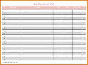 wedding planning organizer 5 wedding list template expense report
