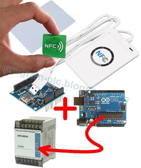 plc and nfc application acr122u usb nfc mitsubishi plc fx arduino uno and arduino usb host